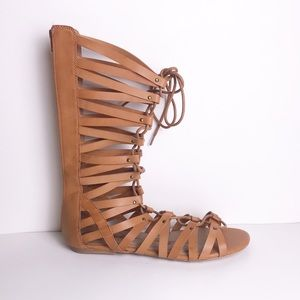 American Rag | Brown Gladiator Sandals Strappy